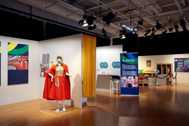 Une grande partie de l'exposition est consacrée à... (Photo Michel Pinault, fournie par la maison de la culture Maisonneuve)
