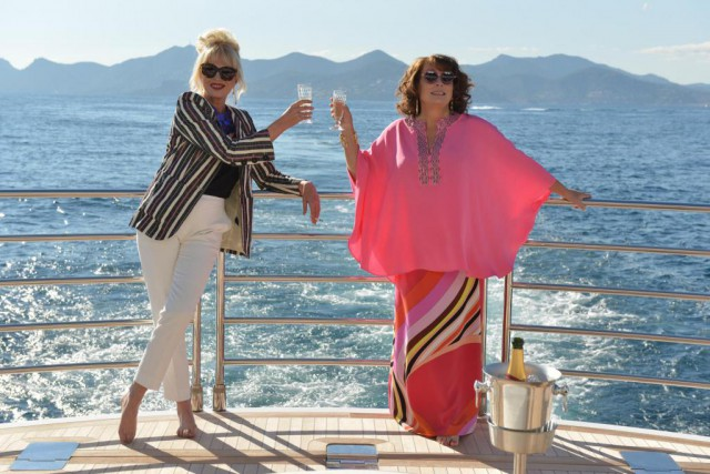 Jennifer Saunders et Joanna Lumley, respectivement Eddy et... (Photo David Appleby, fournie par Twentieth Century Fox)