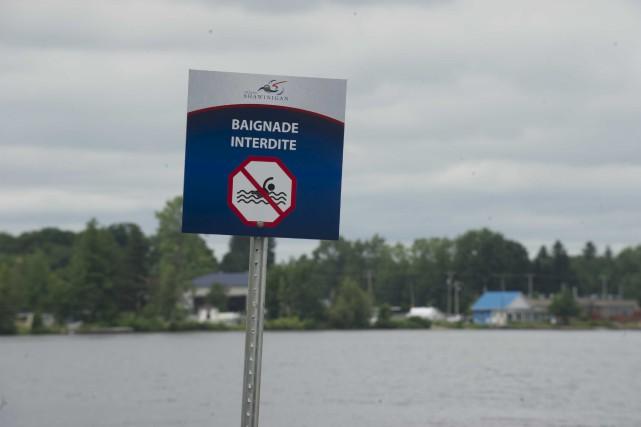 La Ville de Shawinigan interdit la baignade à... (Sylvain Mayer)