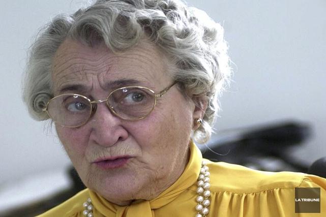 La Grande Estrienne 1995, Estelle Gobeil, est décédée... (Archives, La Tribune)