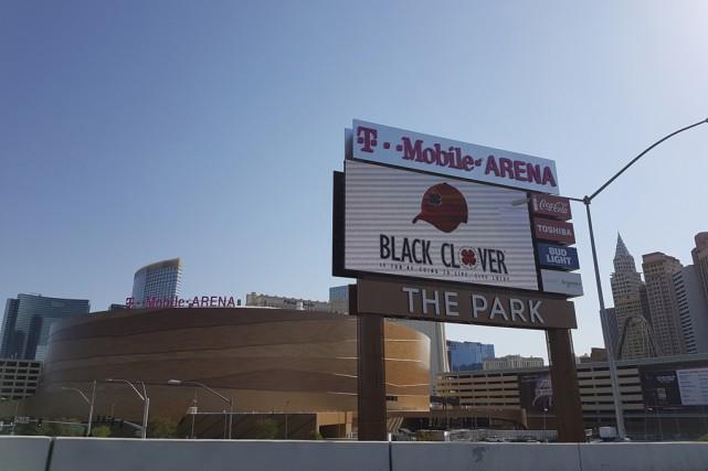 L'intérieur du T-Mobile Arena est majestueux, mais où... (Carol Groleau)