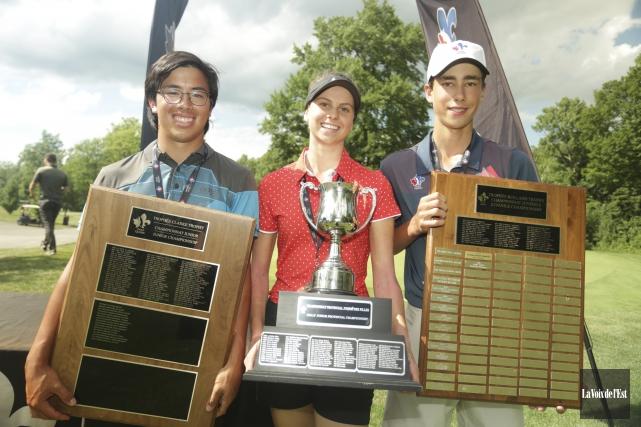 Cullen Chung (à gauche) et Noémie Paré sont... (Catherine Trudeau, La Voix de l'Est)