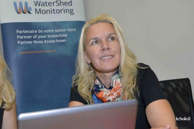 Sonja Behmel est la présidente-directrice générale de WaterShed... (Photothèque Le Soleil, Jean-Marie Villeneuve)
