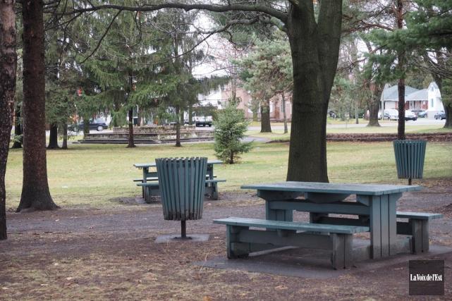 Le parc Pelletier.... (Alain Dion, archives La Voix de l'Est)