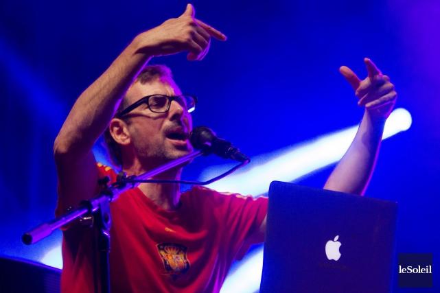 Maxime Morin, alias DJ Champion, a livré un... (Le Soleil, Caroline Grégoire)