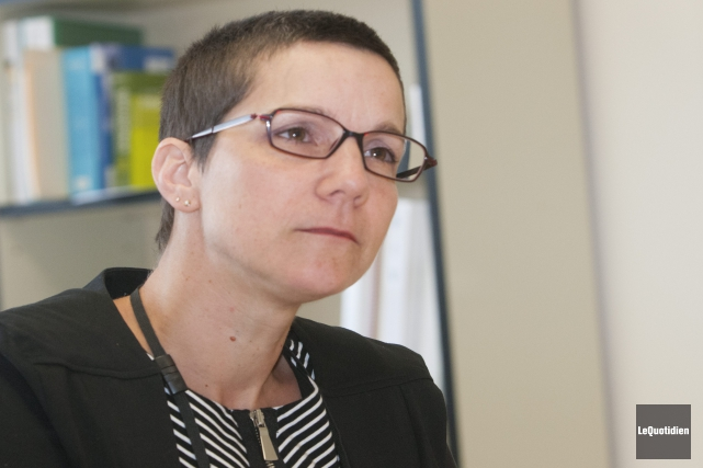 La directrice régionale de la DPJ Sonia Boivin... (Photo Le Quotidien, Michel Tremblay)