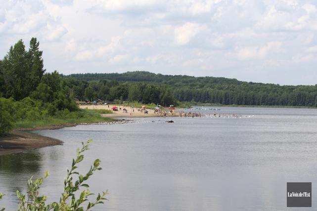 D'une superficie de 4,6 kilomètres, le réservoir Choinière... (Alain Dion, La Voix de l'Est)