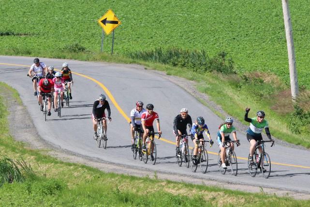 Tour à vélo pour l'autisme... (Photo courtoisie)