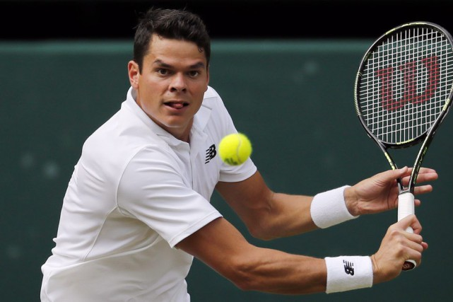 Raonic, de Thornhill, en Ontario, est la quatrième... (PHOTO BEN CURTIS, ARCHIVES AP)