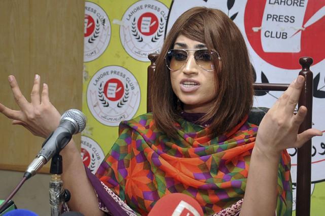 Qandeel Baloch, dont le vrai nom était Fauzia... (AP)