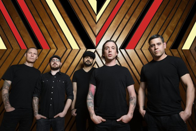 Le groupe Billy Talent se retrouvera sur les... (Photo courtoisie, Dustin Rabin Photography)
