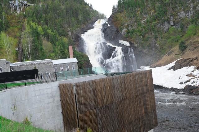 Les profits engendrés par la minicentrale de Val-Jalbert... (Archives Le Progrès-Dimanche)