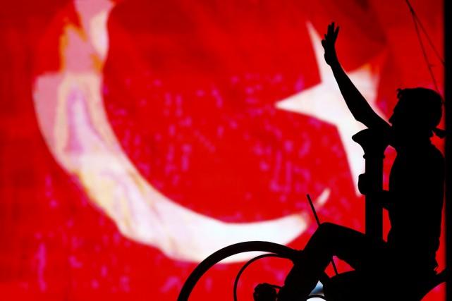 À Istanbul, le chef de l'État s'est en... (REUTERS)