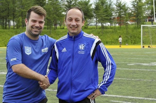Le DG du Club de soccer de Chicoutimi,... (Photo Le Progrès-Dimanche, Rocket Lavoie)