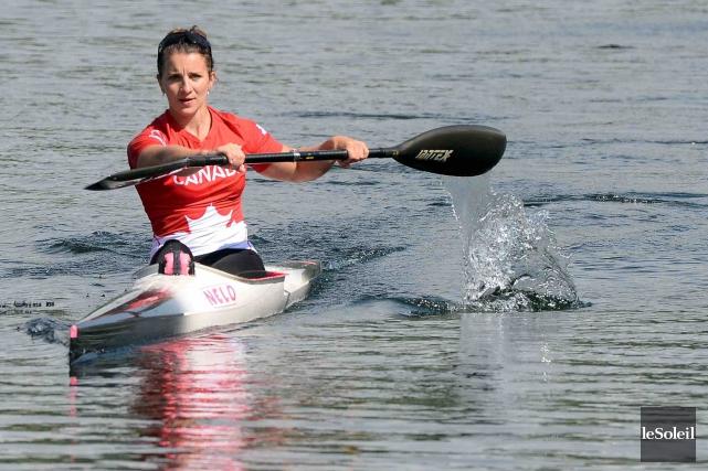 La kayakiste Andréanne Langlois sera motivée par un... (Le Soleil, Erick Labbé)