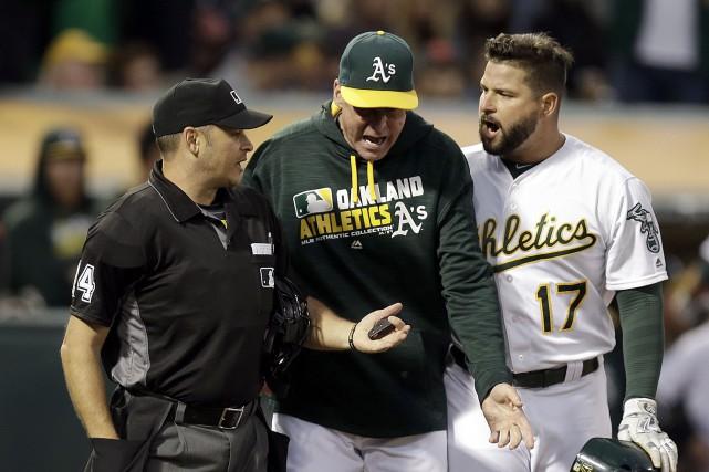 Le vice-président des opérations du Baseball majeur, Joe... (AP)