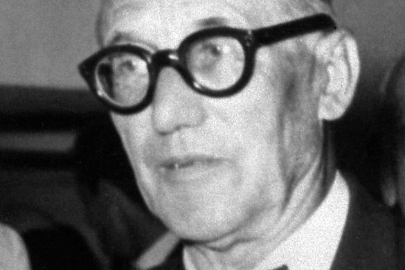 Le Corbusier en 1957... (PHOTO ARCHIVES AGENCE FRANCE-PRESSE)