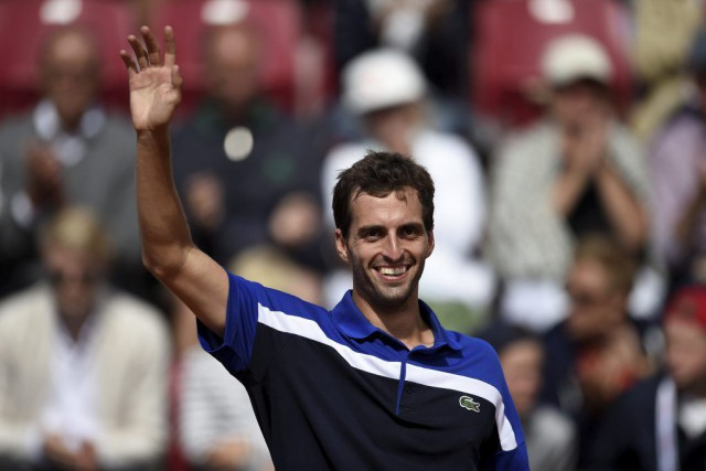 Albert Ramos-Vinolas... (PHOTO AFP/TT NEWS AGENCY)