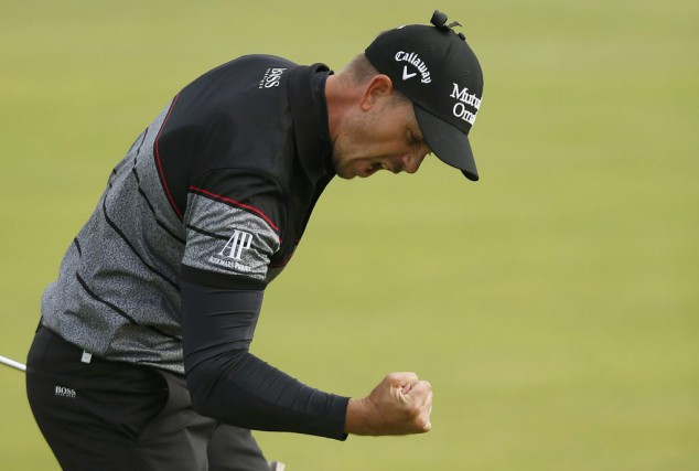 Henrik Stenson... (PHOTO PAUL CHILDS, REUTERS)