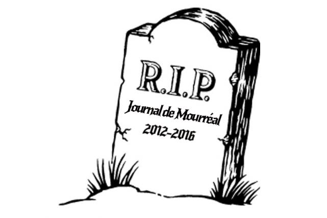 Le gestionnaire de la page Facebook du Journal... (Tirée de Facebook)