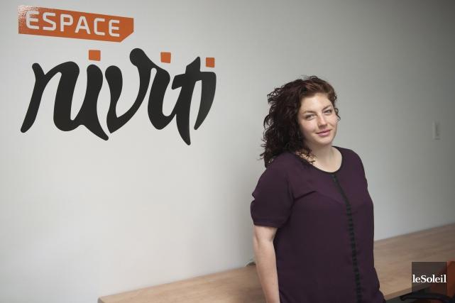 La jeune entrepreneure Kim Auclair a choisi la... (Le Soleil, Alice Chiche)