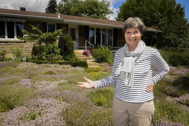 Margriet Vis, une résidente de Trois-Rivières, a remplacé... (François Gervais)