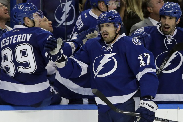 Alex Killorn a largement contribué aux récents succès du... (Archives, Associated Press)