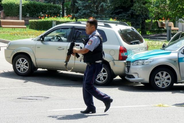 «L'alerte antiterroriste a été relevée à son niveau... (PHOTO REUTERS)