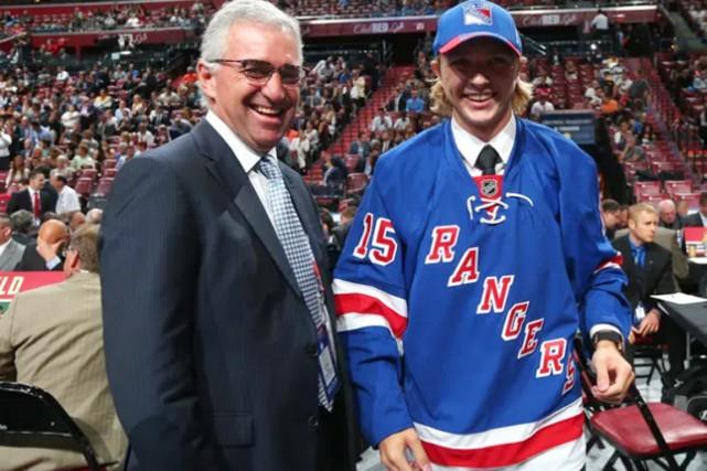 Les Rangers ont réclamé Kovacs en troisième ronde... (photo Bruce Bennett, archives Getty Images)