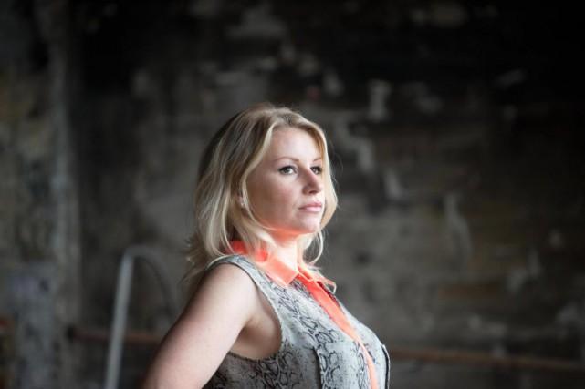 Rare femme parmi la horde d'humoristes québécois, Cathy... (PHOTO OLIVIER JEAN, ARCHIVES LA PRESSE)
