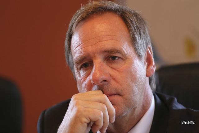 Roger Noiseux quittera ses fonctions en octobre ou... (Alain Dion, archives La Voix de l'Est)