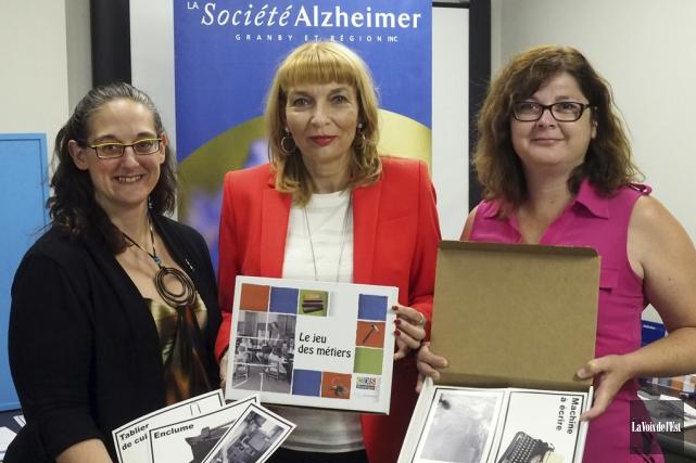 La Société Alzheimer Granby et région a lancé... (Alain Dion, La Voix de l'Est)
