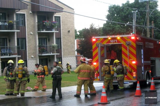 Un feu de cuisson a entraîné l'évacuation d'une... (La Tribune, Ève Bonin)