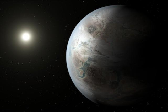 Une équipe internationale d'astronomes a confirmé lundi la découverte par le... (PHOTO FOURNIE PAR LA NASA)