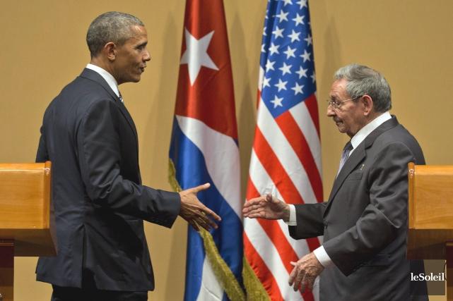 En mars dernier, la visite historique de Barack... (Photothèque Le Soleil)