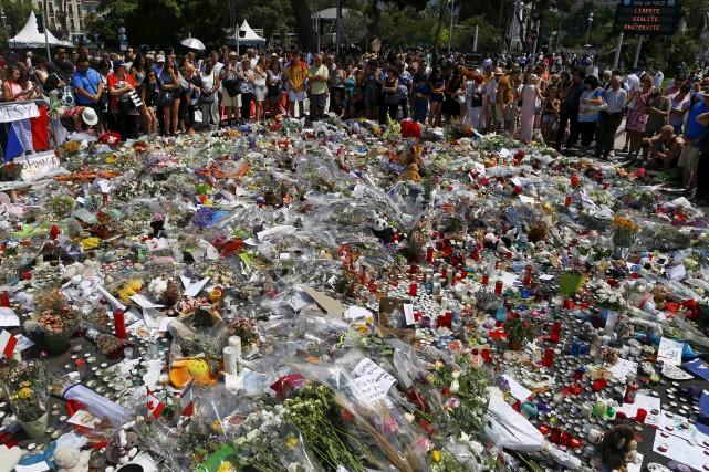 L'attentat de Nice a entraîné nombre de réactions... (AP)
