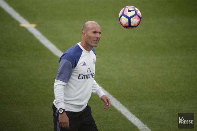 Zinédine Zidane... (La Presse)