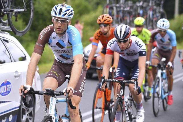 Hugo Houle a complété le Tour de Pologne... (TDWSPORT)