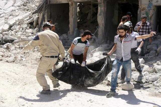 Pour des experts, l'avancée de l'armée syrienne, soutenue... (PHOTO AFP)