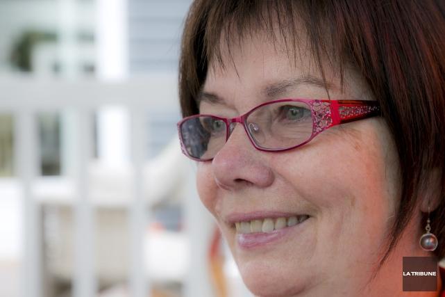 Suzanne Nadeau-Whissell craint que les nouvelles directives imposées... (Archives La Tribune, René Marquis)
