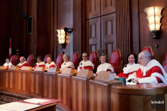 La Cour suprême canadienne, la plus haute instance... (Photothèque Le Soleil)