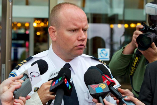 En juin dernier, le Service de police de... (PHOTO ALAIN ROBERGE, ARCHIVES LAPRESSE)