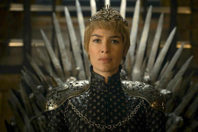 Lena Headey dans le rôle deCersei Lannister dansGame... (photo fournie par hbo)
