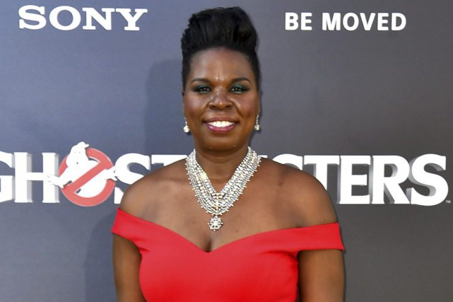 Leslie Jones à la première de Ghostbusters le... (PHOTO ARCHIVES AP)
