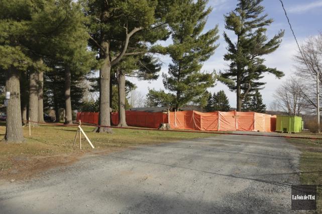 Aucun projet de construction n'est en préparation sur... (Janick Marois, La Voix de l'Est)