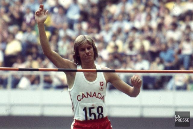 Le Canadien Greg Joy a remporté la médaille... (Archives La Presse)