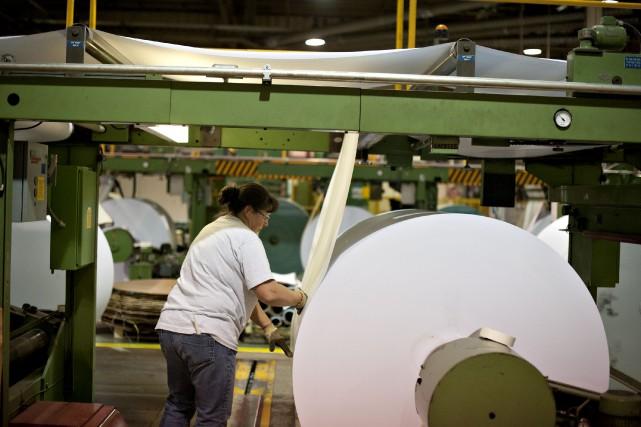 Après des reculs en février et en mars, le produit intérieur brut (PIB) du... (Bloomberg)