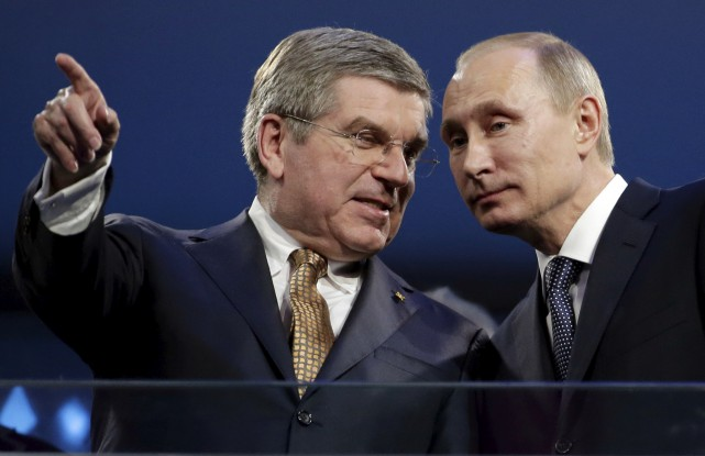 Le Comité olympique international, présidé par Thomas Bach,... (AP)