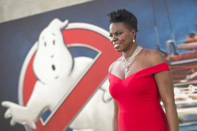 L'actrice américaine noire Leslie Jones... (AFP)
