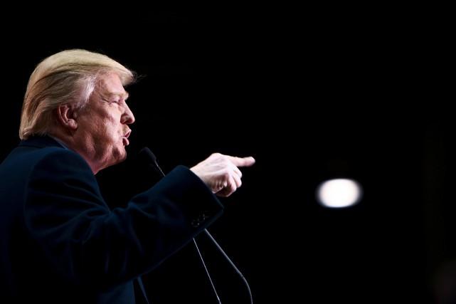 Donald Trump... (La Presse NYT)